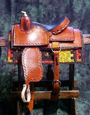 Cutting Saddle ~ Owned by Kellye Bussey
