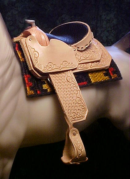 WP Saddle in Natural ~ Owned by Kathy Lane