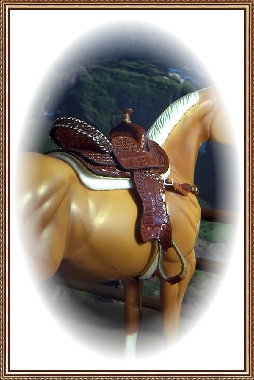 Trophy Barrel Saddle ~ Owned by Karon H. Grieve of Scotland